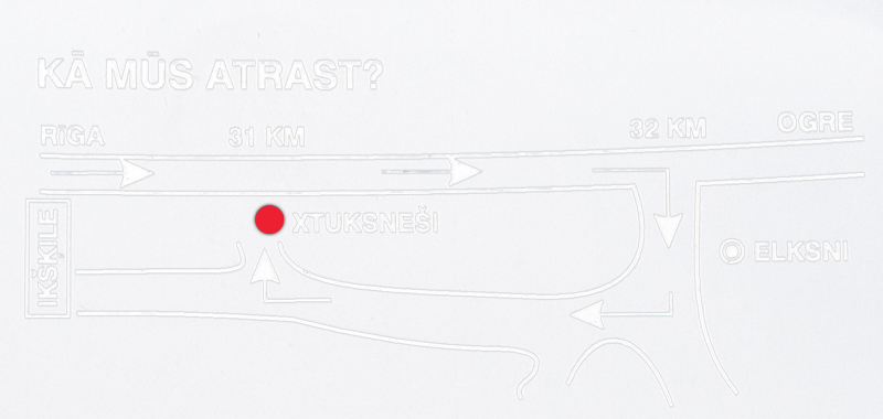 X-Tuksnesi Auto Riepu Serviss karte